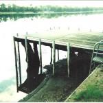 Old pontoon